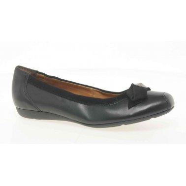 Paul Green Bow and Stud Ladies Ballet Shoes