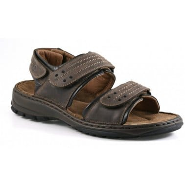 Josef Seibel Firenze Triple Velcro Mens Walking Sandals