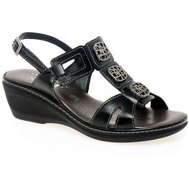 Jessica Izzy Ladies Leather Sandal