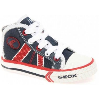 Geox Baby Kiwi Boys Canvas Boots