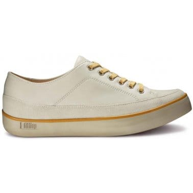 FitFlop Super T™ Urban White Leather Ladies Sneakers