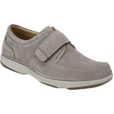 Clarks Swift Turn Mens Grey Casual Shoes