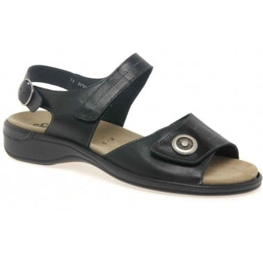 Semler Disc Classic Leather Ladies Sandals