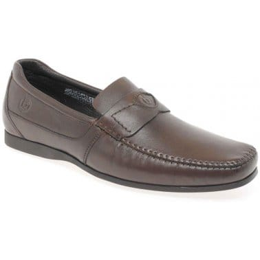 Bugatti Jubilee Mens Leather Slip On Shoes