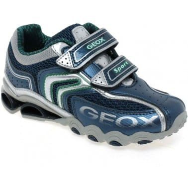 Geox Junior Tornado Boys Velcro Fastening Shoes