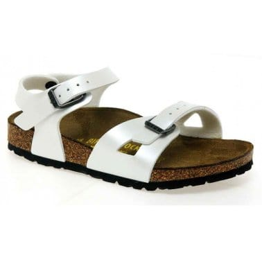 Birkenstock Rio Moonstone Girls Open Toe Sandals