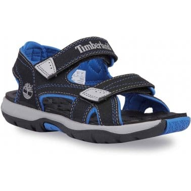 Timberland Mad River 2 Strap Black Boys Sandals