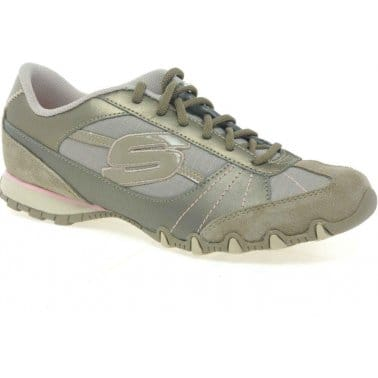 Bikers Ladies Taupe Sports Shoes