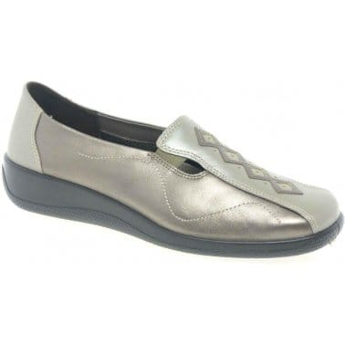 Hotter Calypso II Casual Slip On Ladies Shoes