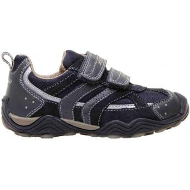 Geox Junior Arno Boys Casual Trainers