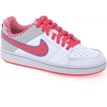 Nike Backboard Girls Lace Up Sports Shoes
