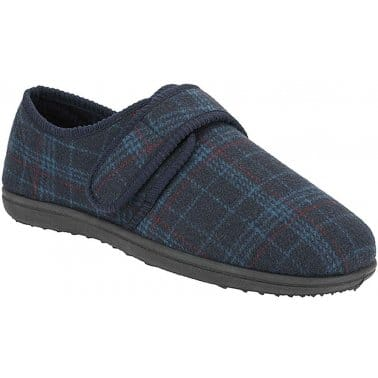 Clarks King Switch Mens Fabric Slippers