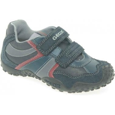 Geox Giant Junior Boys Velcro Fastening Trainers