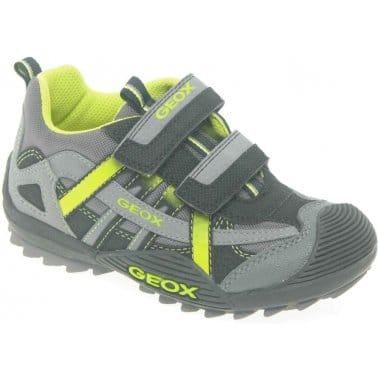 Geox Junior Savage Boys Velcro Fastening Trainers