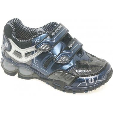 Geox Junior Fighter 2 Boys Velcro Fastening Sports Shoes