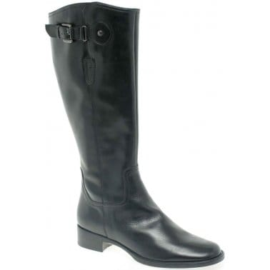 Cara Flight Ladies Long Leather Boots