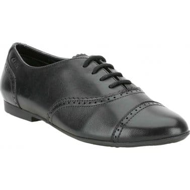 Erica Lace Girls Lace Up Brogue School Shoes