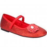 Clarks Toola Gem Girls Ballet Flat Shoes