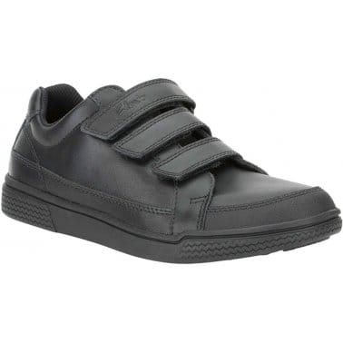 Clarks Deccan Boy Boys Velcro Fastening Shoes