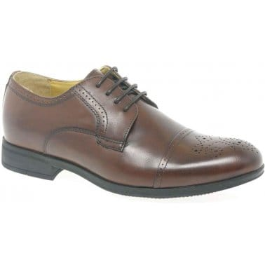 Steptronic Benz Mens Formal Lace Up Shoes
