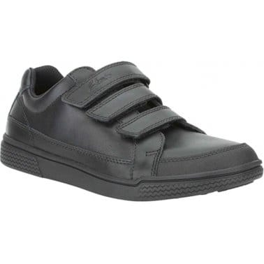 Clarks Stockton Boys Velcro Fastening Shoes