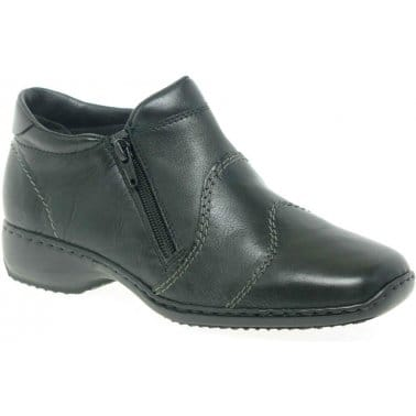 Dory Womens Double Zip Ankle Boots