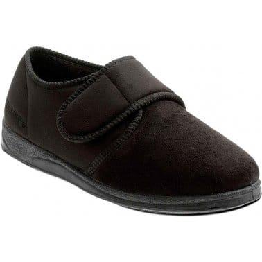 Charles Mens Velcro Fastening Slippers
