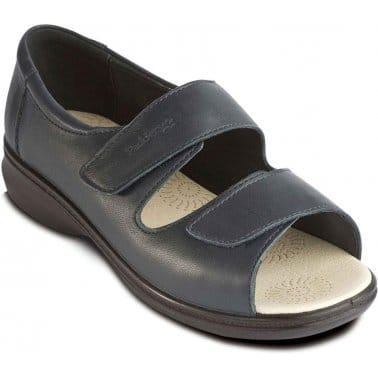 Padders Shell Womens Rip-Tape Casual Sandals