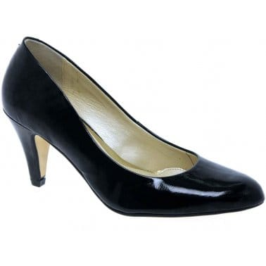 Holt Leather Dress Court Shoes