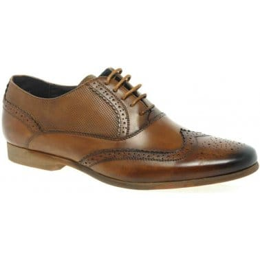 Front Lagoon Mens Formal Brown Brogues
