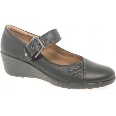 Hotter Nice Womens Buckle Fastening Casual Shoes