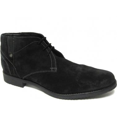 Bugatti Romano Mens Lace Up Desert Boots