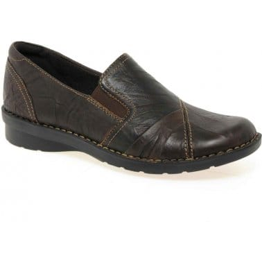 Clarks Fernley Della Ladies Slip On Casual Pumps