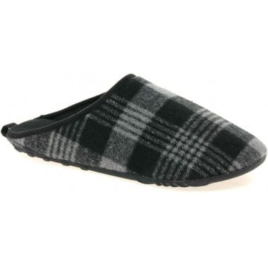 Dunlop Jude Mens Fabric Slippers