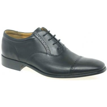 Barker Jardine Brogue Detail Oxford Shoes