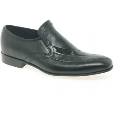 Barker Latina Formal Mens Slip On Crocodile Shoes