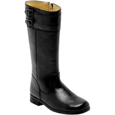 Turmoil Girls Long Leather Boots