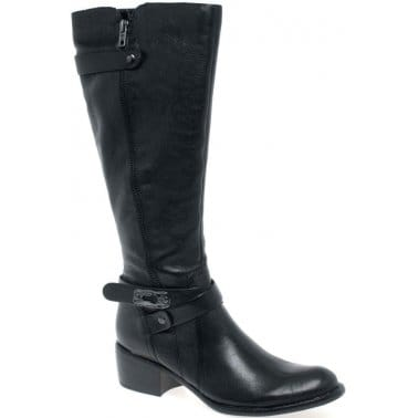 Cara Eva II Womens Leather Long Boots