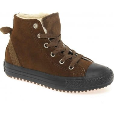 Converse All Star Hollis Boys Lace Up Boots