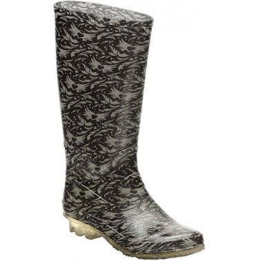 Angry Angels Fierce Girls Wellington Boots