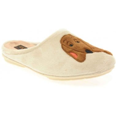 Dog Womens Slippers