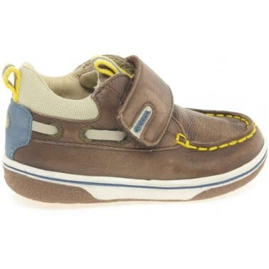Geox Flick Boat Infant Boys Velcro Fastening Shoes