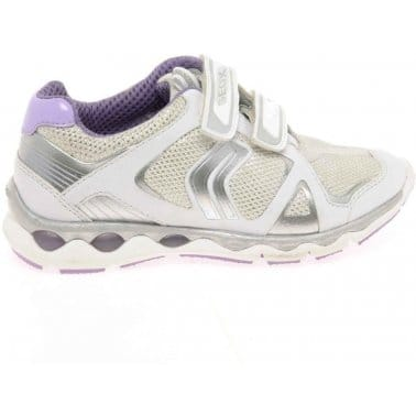 Geox Magica Junior Girls Velcro Fastening Trainers