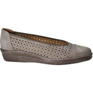 Gabor Heart Womens Punched Detail Casual Shoes