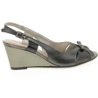Zodiaco Tickle Womens Wedge Heeled Sandals
