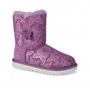 Ugg Bailey Butterfly Girls Warm Lined Boots