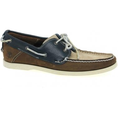 Timberland Earth Keeper Boat 2 Eye Mens Lace Up Shoes