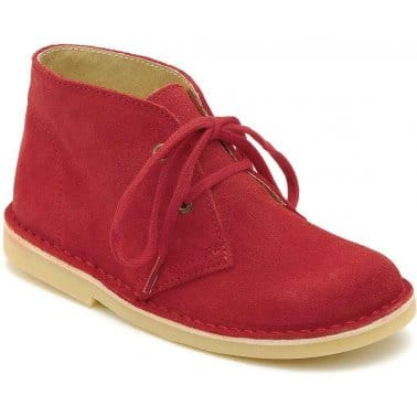 Startrite Colorado Boys Suede Lace Up Ankle Boots