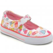 Startrite Gelato Girls Velcro Fastening Canvas Shoes