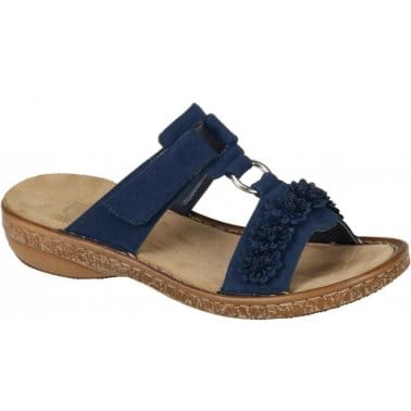 Rieker Maple Womens Velcro Fastening Casual Sandals